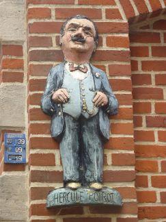 Statue of Hercule Poirot
